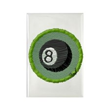 Eight Ball Rectangle Magnet