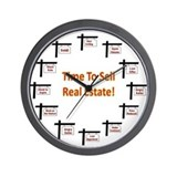 Real estate Wall Clocks