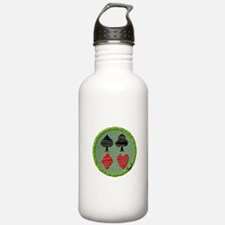 Cards Water Bottle