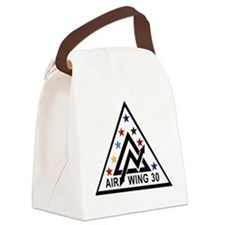 air_wing_30.png Canvas Lunch Bag