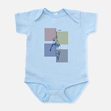 SketchySky with Blocks Infant Bodysuit