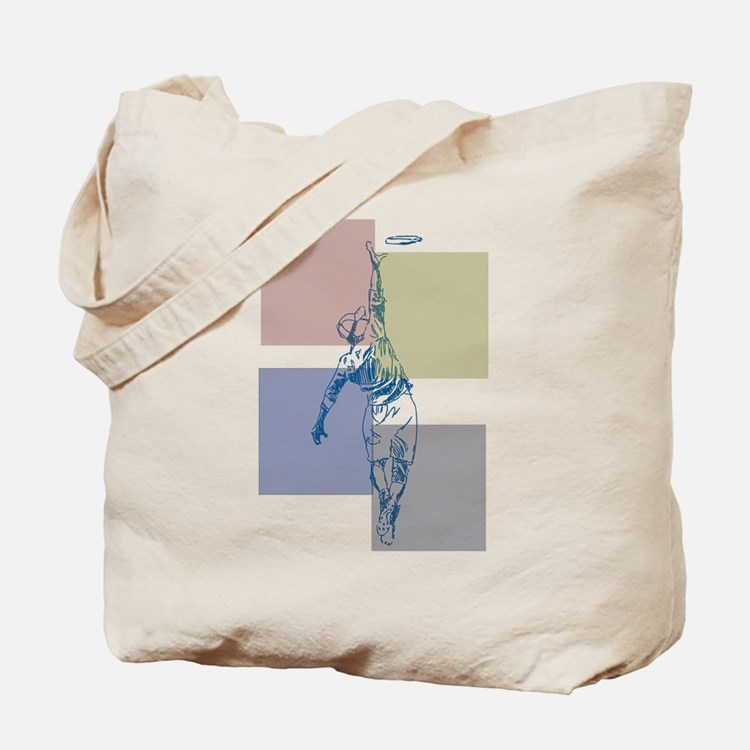 SketchySky with Blocks Tote Bag