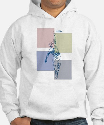SketchySky with Blocks Hoodie Sweatshirt