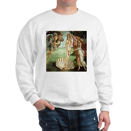 Birth of Venus Botticelli Sweatshirt
