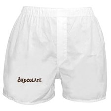 Chocolate (with Willy Wonka lettering) Boxer Short