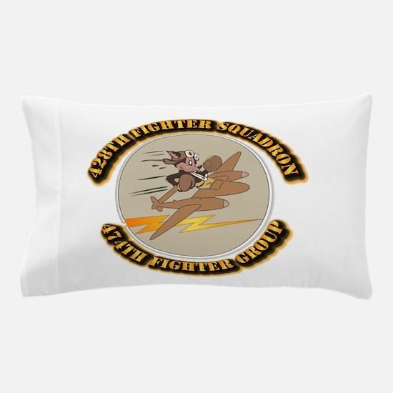 AAC - 428th FS - 474th FG Pillow Case