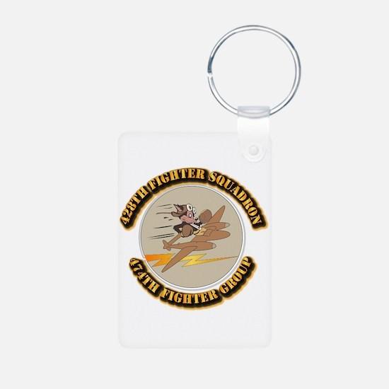 AAC - 428th FS - 474th FG Keychains