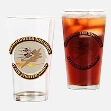 AAC - 428th FS - 474th FG Drinking Glass