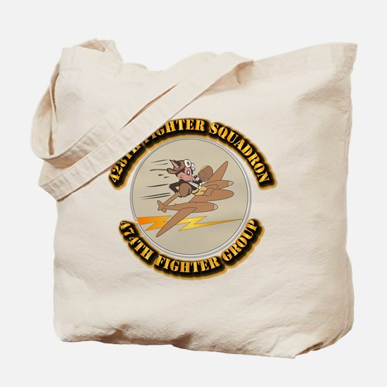 AAC - 428th FS - 474th FG Tote Bag