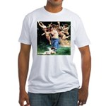 Cupids William Bouguereau Fitted T-Shirt