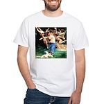 Cupids William Bouguereau White T-Shirt
