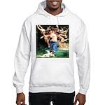 Cupids William Bouguereau Hooded Sweatshirt