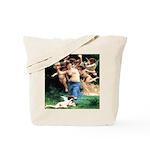 Cupids William Bouguereau Tote Bag