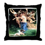 Cupids William Bouguereau Throw Pillow