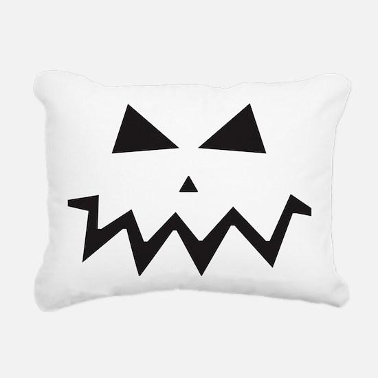 Cute Jack o lantern Rectangular Canvas Pillow