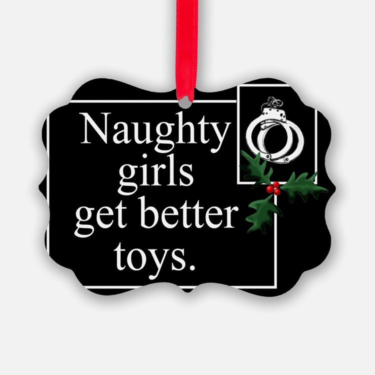 Naughty Girls Ornament