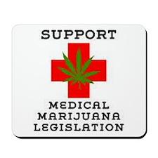 medical marijuana legalization Mousepad