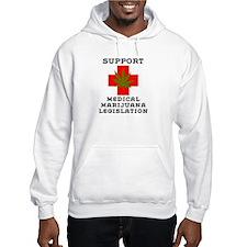 medical marijuana legalization Hoodie