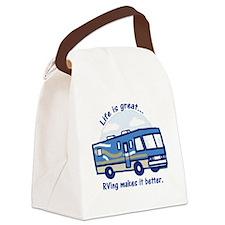 RVinggreat Canvas Lunch Bag
