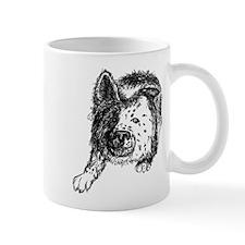 Border Collie Stare Mug
