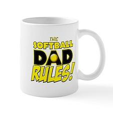 This Softball Dad Rules copy.png Mug