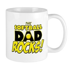 This Softball Dad Rocks copy.png Mug