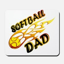 Softball Dad (flame) copy.png Mousepad