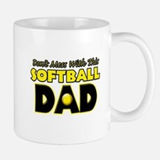 Dont Mess With This Softball Dad copy.png Mug