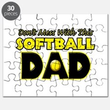 Dont Mess With This Softball Dad copy.png Puzzle