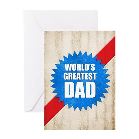 Worlds Greatest Dad Greeting Card