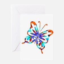 Flutterby - Xtreme Greeting Card