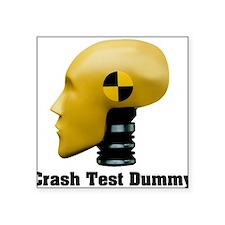 Crash Test Dummy Rectangle Sticker