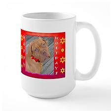 Dogue Puppy Happy Holidays Mug