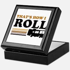 Thats How I Roll (RV) Keepsake Box