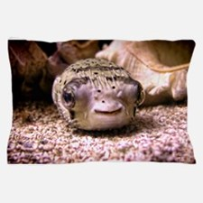 Helaine's Blowfish (Pufferfish ) Pillow Case