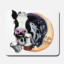 Cow Jump Over the Moon Mousepad