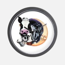 Cow Jump Over the Moon Wall Clock