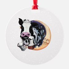 Cow Jump Over the Moon Ornament