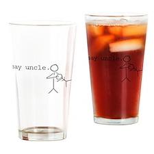 Unique Uncle Drinking Glass
