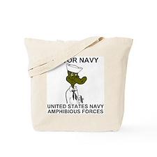 Gator Navy Tote Bag