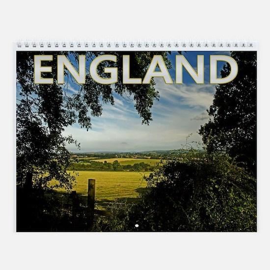 England Photo Wall Calendar