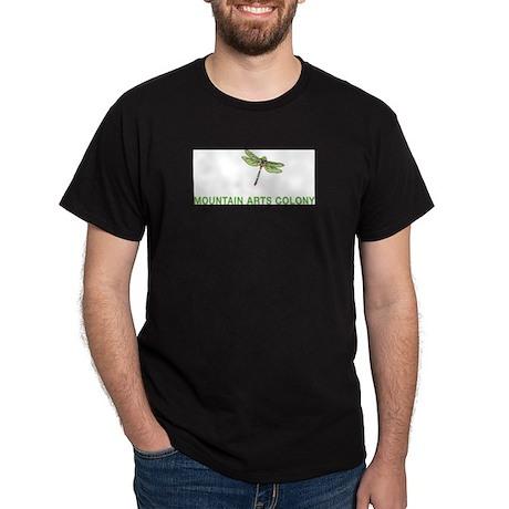 White and green Dorland logo Dark T-Shirt