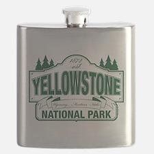Green Yellowstone Flask
