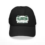 Yellowstone Green Design Black Cap
