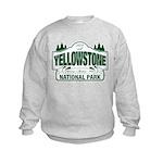 Yellowstone Green Design Kids Sweatshirt