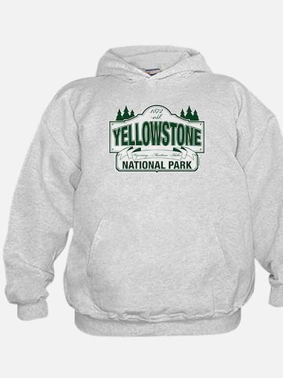 Yellowstone Green Design Hoody
