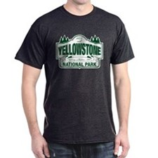 Yellowstone Green Design T-Shirt