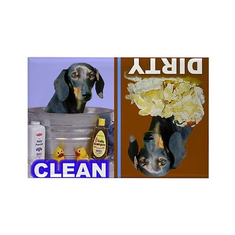 4-3-Dishwasher -RecMag -Dachshund,BT Magnets
