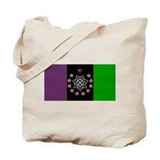 the Flag of the Nation Of Thelema Tote Bag