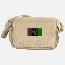 the Flag of the Nation Of Thelema Messenger Bag